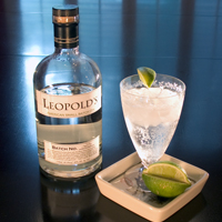 Leopold's makes a tasty G&T.