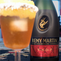 Remy VSOP and the Brandy Crusta